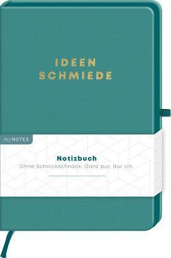 myNOTES Notizbuch Classics Ideenschmiede – Notizbuch im Mediumformat für Träume, Pläne und Ideen