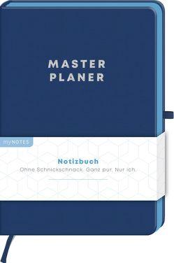myNOTES Notizbuch Classics Masterplaner – Notizbuch im Mediumformat für Träume, Pläne und Ideen