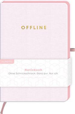 myNOTES Notizbuch Classics Offline – Notizbuch im Mediumformat für Träume, Pläne und Ideen