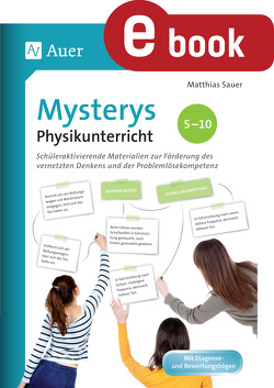 Mysterys Physikunterricht 5-10 von Sauer,  Matthias