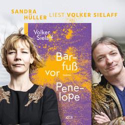 Mystische Aubergine – Sandra Hüller liest Volker Sielaff von Hüller,  Sandra, Sielaff,  Volker