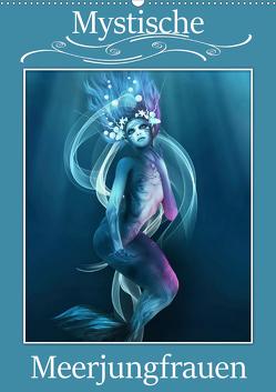 Mystische Meerjungfrauen (Wandkalender 2020 DIN A2 hoch) von Pic A.T.Art,  Illu