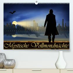 Mystische Vollmondnächte (Premium, hochwertiger DIN A2 Wandkalender 2020, Kunstdruck in Hochglanz) von Jüngling,  Monika, Mausopardia,  alias
