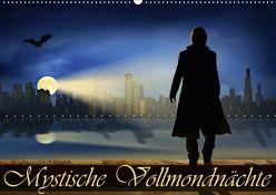 Mystische Vollmondnächte (Wandkalender 2018 DIN A2 quer) von Jüngling,  Monika, Mausopardia,  alias
