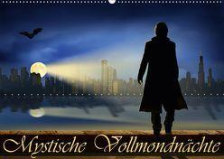 Mystische Vollmondnächte (Wandkalender 2019 DIN A2 quer) von Jüngling,  Monika, Mausopardia,  alias