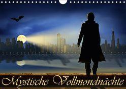 Mystische Vollmondnächte (Wandkalender 2019 DIN A4 quer) von Jüngling,  Monika, Mausopardia,  alias