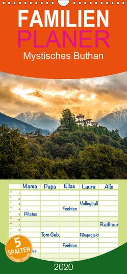 Mystisches Bhutan – Familienplaner hoch (Wandkalender 2020 , 21 cm x 45 cm, hoch) von Seiter,  Tommy