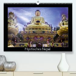Mystisches Nepal – Am Fuße des Himalaya (Premium, hochwertiger DIN A2 Wandkalender 2021, Kunstdruck in Hochglanz) von Lama,  Christian
