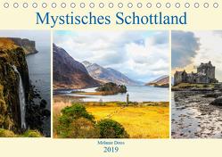 Mystisches Schottland (Tischkalender 2019 DIN A5 quer) von Deiss,  Melanie