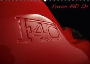 Mythos Ferrari F40 LM (Wandkalender 2018 DIN A2 quer) von Bau,  Stefan