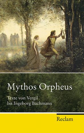 Mythos Orpheus von Storch,  Wolfgang