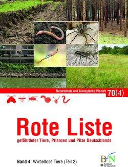 NaBiV Heft 70/4: Rote Liste gefährdeter Tiere, Pflanzen und Pilze Deutschlands – Band 4: Wirbellose Tiere (Teil 2) von Bundesamt für Naturschutz