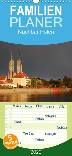 Nachbar Polen – Familienplaner hoch (Wandkalender 2020 , 21 cm x 45 cm, hoch) von Falk,  Dietmar