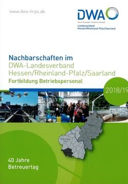Nachbarschaften im DWA-Landesverband Hessen/Rheinland-Pfalz/Saarland