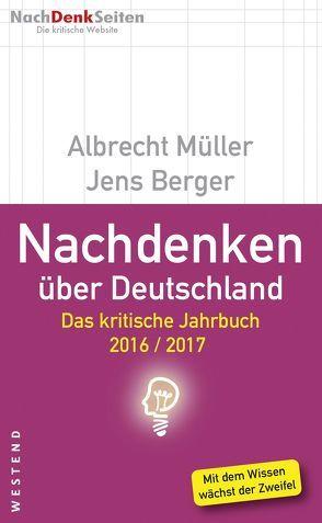 Nachdenken über Deutschland von Lieb,  Wolfgang, Müller,  Albrecht