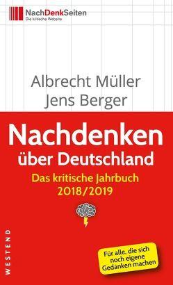 Nachdenken über Deutschland von Berger,  Jens, Müller,  Albrecht