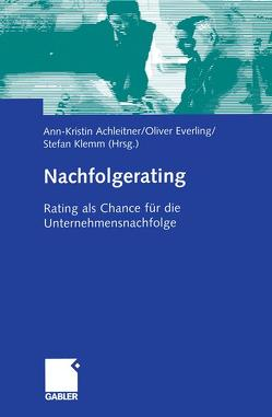Nachfolgerating von Achleitner,  Ann-Kristin, Everling,  Oliver, Klemm,  Stefan