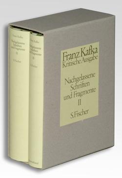 Nachgelassene Schriften und Fragmente II von Kafka,  Franz, Schillemeit,  Jost
