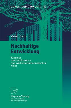 Nachhaltige Entwicklung von Radke,  Volker