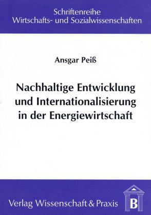 Nachhaltige Entwicklung und Internationalisierung in der Energiewirtschaft von Peiss,  Ansgar