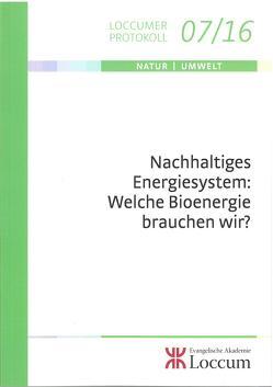 Nachhaltiges Energiesystem: Welche Bioenergie brauchen wir? von Müller,  C.M. Monika, Wagener-Lohse,  Georg