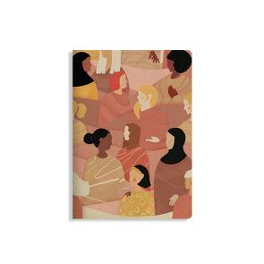 """Nachhaltiges Notizbuch A5 aus Graspapier, Tara – """"Diversity"""""""