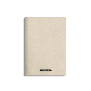 """Nachhaltiges Notizbuch A5 aus Graspapier, Tara – """"Easy"""""""