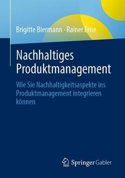 Nachhaltiges Produktmanagement von Biermann,  Brigitte, Erne,  Rainer
