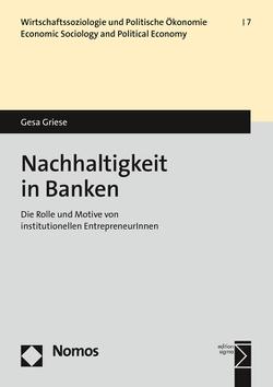 Nachhaltigkeit in Banken von Griese,  Gesa
