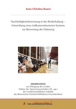Nachhaltigkeitsbewertung in der Rinderhaltung – von Rauen,  Anna