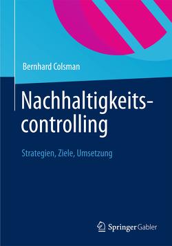 Nachhaltigkeitscontrolling von Colsman,  Bernhard