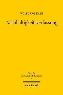 Nachhaltigkeitsverfassung von Kahl,  Wolfgang