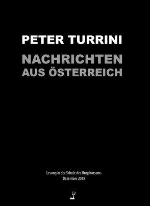 Nachrichten aus Österreich von Turrini,  Peter