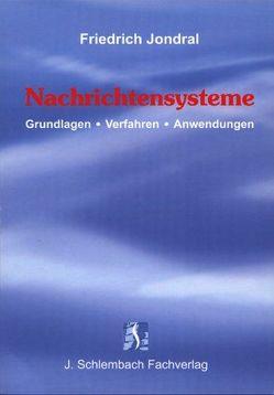 Nachrichtensysteme von Jondral,  Friedrich