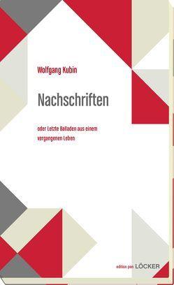 Nachschriften von Kubin,  Wolfgang
