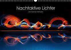 Nachtaktive Lichter (Wandkalender 2019 DIN A3 quer) von Heilmann,  Gunnar