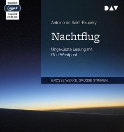 Nachtflug von Michel-Moldenhauer,  Eva, Saint-Exupéry,  Antoine de, Westphal,  Gert