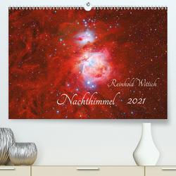 Nachthimmel (Premium, hochwertiger DIN A2 Wandkalender 2021, Kunstdruck in Hochglanz) von Wittich,  Reinhold