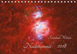 Nachthimmel (Tischkalender 2018 DIN A5 quer) von Wittich,  Reinhold