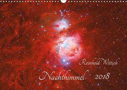 Nachthimmel (Wandkalender 2018 DIN A3 quer) von Wittich,  Reinhold