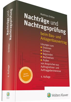 Nachträge und Nachtragsprüfung von Drittler,  Matthias