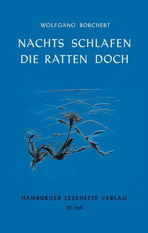 Nachts schlafen die Ratten doc von Borchert,  Wolfgang