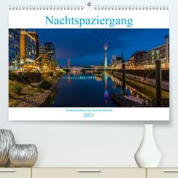 Nachtspaziergang (Premium, hochwertiger DIN A2 Wandkalender 2021, Kunstdruck in Hochglanz) von Wege / twfoto,  Thorsten