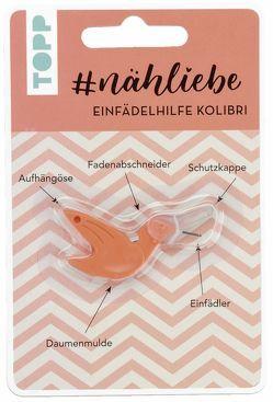 #nähliebe Einfädelhilfe Kolibri Koralle von frechverlag