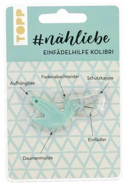 #nähliebe Einfädelhilfe Kolibri Mint von frechverlag