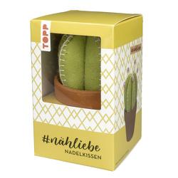 #nähliebe Kaktus-Nadelkissen von frechverlag