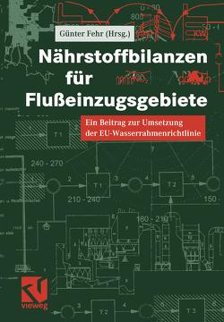 Nährstoffbilanzen für Flußeinzugsgebiete von Fehr,  Günther