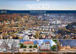 Nagold (Wandkalender 2019 DIN A2 quer) von Erwin Berner,  Adam