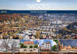 Nagold (Wandkalender 2019 DIN A4 quer) von Erwin Berner,  Adam