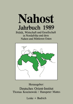 Nahost Jahrbuch 1989 von Koszinowski,  Thomas, Mattes,  Hanspeter